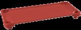 Lits de camp empilables de diverses couleurs ECR4Kids® pour enfants - L 1,32 m x l 58,4 cm x H 12,7 cm - Assemblés (Couleur PRÉCISER) pqt-5
