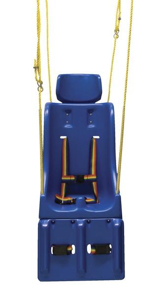 Sièges de balançoire particuliers - Enfant (appuie-tête, balançoire, corde, repose-jambes) Image