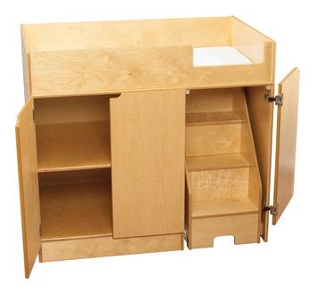 solution scolaire escalier droite pour table langer childcraft avec escalier escalier. Black Bedroom Furniture Sets. Home Design Ideas