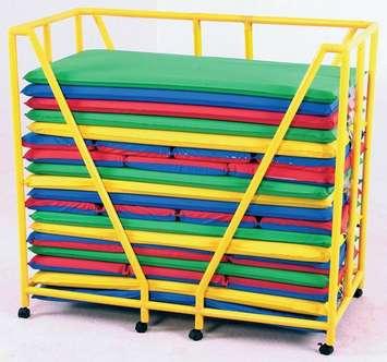 Chariot de rangement de matelas pour enfants Image