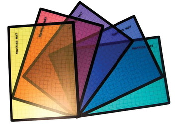 Ensemble de petits tapis de propreté - 35,9 x 49,8 cm (14 1/8 x 19 5/8 po) - Paquet de 5 Image