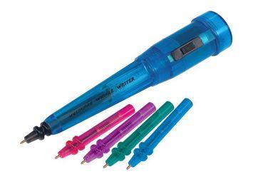 Porte-stylo vibrant Squiggle Wiggle Writer - Stylos de remplacement (Ens. de 4) Image
