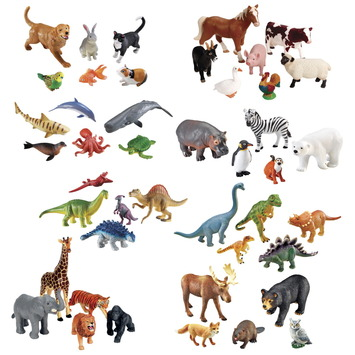Ensemble complet d'animaux géants - Ensemble de 44 Image