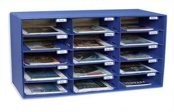 Unité de rangement du style casier postal pour classe - 15 cases Image