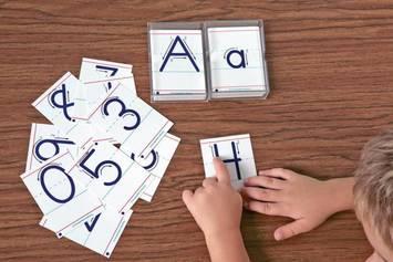 Cartes tactiles - Nombres Image