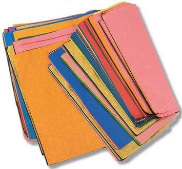 Assortiment de retailles de papier de soie KolorFast Image
