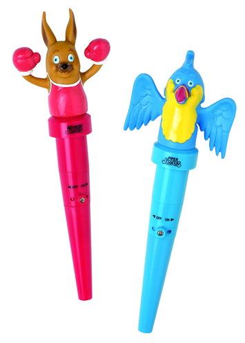 Stimulateurs oraux Jiggler - Perroquet et kangourou Image