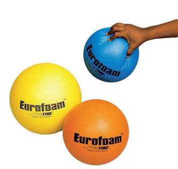 Ballon en mousse Eurofoam avec revêtement – 180 mm (7 po), orange Image