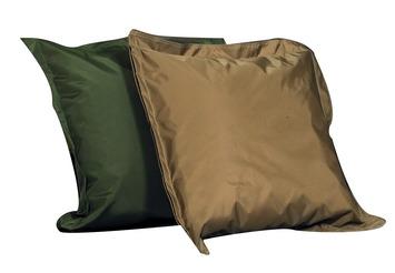 Coussins de sol Beau temps mauvais temps The Children's Factory® - Brun clair et vert (ens.-2) Image
