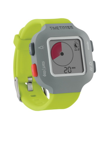 SOLUTION SCOLAIRE - Montre Time Timer® PLUS - Verte (petite)