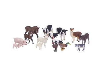 Ensemble d'animaux de la ferme - Ensemble de 15 Image
