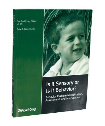 Is It Sensory or Is It Behavior? – livre broché Image