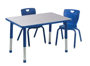 Table pour activités Classroom Select® Appolo® avec bordure moulée en T - 61 cm x 122 cm (Rectangle) Image