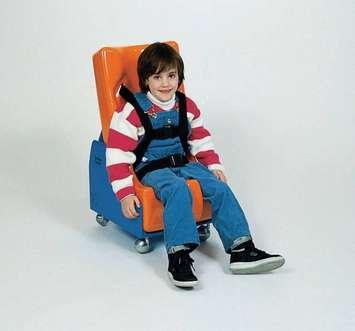 Base mobile pour sièges Feeder Seat améliorés de Tumble Forms - Moyen Image