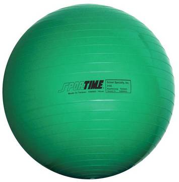 Ballons d'exercice économiques Sportime® - Ballon 65 cm (Vert) Image