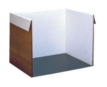 Isoloir en carton ondulé Pacon Image