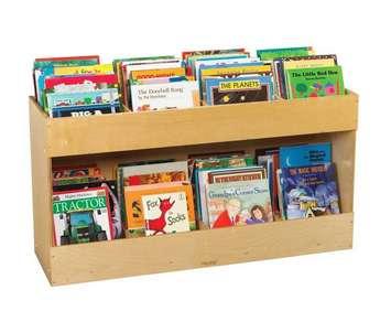 Bibliothèque mobile à côté simple Childcraft Image