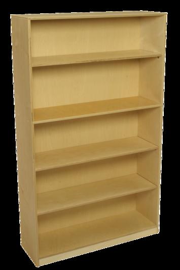 Bibliothèque avec tablettes à hauteur réglable Bird-In-Hand® - H1,52 m - Nombre de tablettes 4 Image
