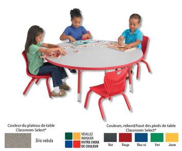 Tables pour activités Classroom Select - 76 cm x 183 cm - Rectangulaire Image