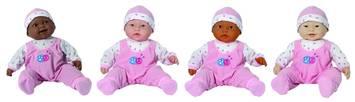 Poupées multiethniques de 51 cm au corps souple Childcraft® - Ensemble de 4 Image