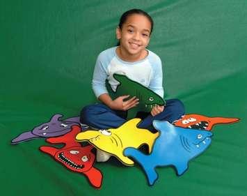 Ensemble Thera-Play ScubaDo! - Requins Image