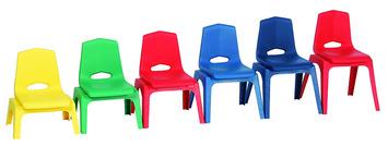 Chaises empilables Prima Royal Seating® - 30,5 cm - Couleur (Votre choix) Image