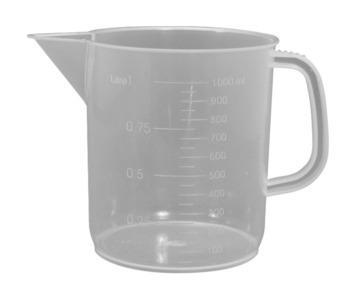 Béchers de polypropylène avec poignée - 1000 ml Image