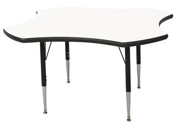 Table d'activité Classroom Select™ pour marqueurs - Trèfle - 121,92 cm (48 po) Image