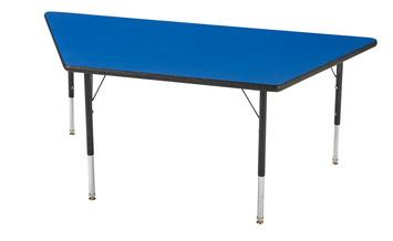 Tables pour activités Classroom Select® avec bordure LockEgde - 61 cm x 61 cm x 122 cm (Trapèze) Image