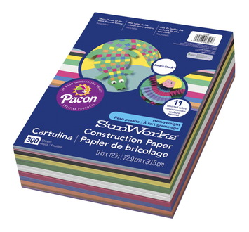 Papier de bricolage SunWorks® Smart-Stack™ - 30,48 × 45,72 cm (12 × 18 po) - Paquet de 150 Image