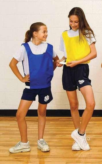 Dossard Sportime pour enfant - orange Image
