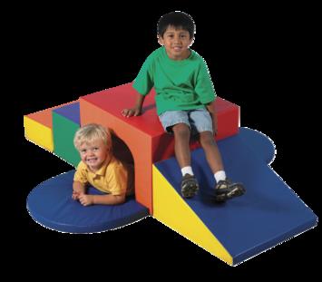 Module à grimper souple avec tunnel The Children's Factory® Image