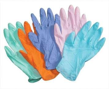 Gants de latex de couleur - 100 (Adultes) Image