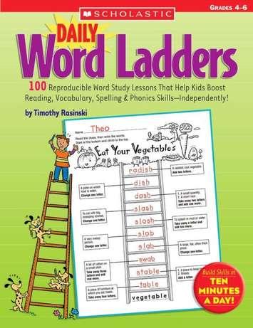 Daily Word Ladders - 4e à 6e Année Image