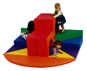 Module à grimper avec tunnels The Children's Factory® Tunnels of Fun® Image