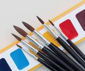 Pinceau Crayola en poils de chameau pour aquarelle, série 1121 - grosseur 6 Image