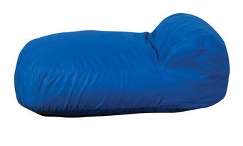 Coussins de sol Haricot The Children's Factory® Cuddle-ups® - Bleu Image