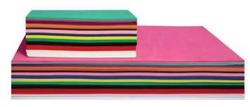 Feuilles de mousse - 21,6 cm x 14,0 cm, couleurs assorties - Paquet de 40 Image