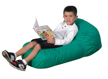 Coussins de sol Haricot The Children's Factory® Cuddle-ups® - Vert Image