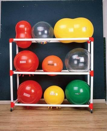Chariot pour ballons thérapeutiques Image