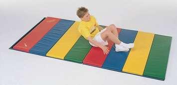 Tapis Super Expand-O-Rainbow de 3 cm - 1,2 m x 2,4 m Image