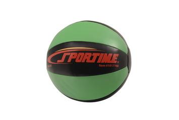 Ballon lesté Sportime® 29 cm, 4 kg, vert Image