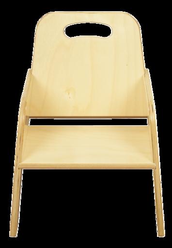 Chaises empilables pour tout-petits Bird-In-Hand® - Hauteur du siège 17,8 cm Image