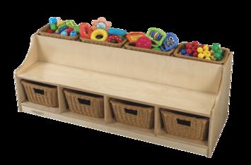 solution scolaire banc de lecture avec espace de rangement childcraft pour tout petits avec 4. Black Bedroom Furniture Sets. Home Design Ideas