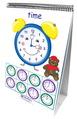 Série de tableaux réversibles Math Readiness - Mesure du temps et argent