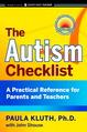 The Autism Checklist - livre broché