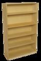 Bibliothèque avec tablettes à hauteur réglable Bird-In-Hand® - H1,52 m - Nombre de tablettes 4
