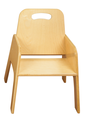 Chaises empilables pour tout-petits Bird-In-Hand® - Hauteur du siège 22,9 cm