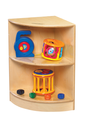 Étagères de coin Childcraft® à angle extérieur pour tout-petits - 36 x 36 x H61 cm