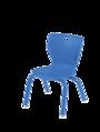 Chaises de style contemporain Classroom Select® avec pieds - (Votre choix) - Couleur du siège - (Votre choix) Couleur de l'armature (Assortie) - H 30,5 cm